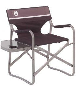 تاشو طبیعت گردی و کمپینگ کلمن Coleman Deck Chair with Side table 1 247x296 - صندلی طبیعت گردی و کمپینگ کلمن - Coleman deck chair with side table