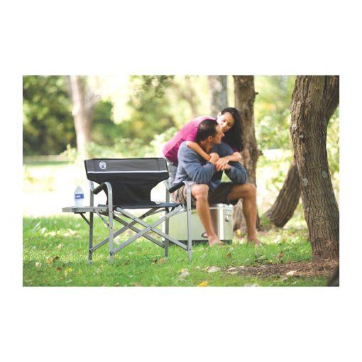 صندلی طبیعت گردی و کمپینگ کلمن – Coleman deck chair with side table