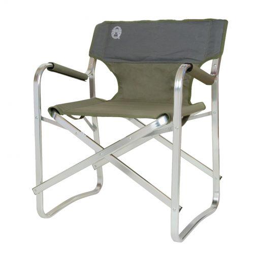 تاشو طبیعت گردی و کمپینگ کلمن Coleman deck chair green 205470 510x510 - صندلی تاشو طبیعت گردی و کمپینگ کلمن - Coleman deck chair green 205470