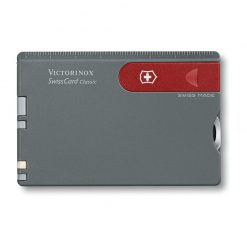 سوییس کارت 10 کاره خاکستری ویکتورینوکس – Victorinox Swiss Card – 0.7106