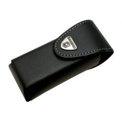 کیف چاقو مشکی ویکتورینوکس برای سوییس تول اسپریت پلاس – Victorinox Leather Pouch For SwissTool Plus – 4.0833.L