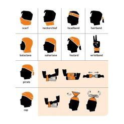دستمال سر و گردن Wind x-treme Black Waves