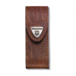 کیف چاقو قهوه ای برای چاقوهای 2 تا 4 لایه – Victorinox Leather Belt Pouch – 4.0543