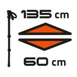 باتوم کوهنوردی فرینو موستانگ  - Ferrino Mustang Poles