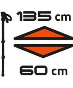 Dobisell باتوم کوهنوردی موستانگ فرینو Ferrino Mustang Poles 1 247x296 - باتوم کوهنوردی فرینو موستانگ  - Ferrino Mustang Poles