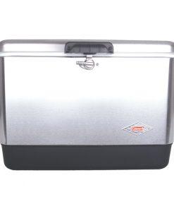 Dobisell جعبه خنک نگهدارنده کلمن Coleman Steel Belted 54Qt Cooler 247x296 - جعبه خنک نگهدارنده استیل کلمن - Coleman Steel Belted 54 Qt Cooler