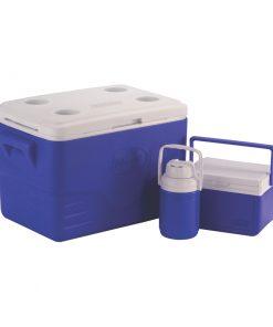 Dobisell جعبه خنک نگه دارنده 3تکه 34لیتری کلمن Coleman 3Piece Cooler Combo 247x296 - جعبه خنک نگه دارنده 3 تکه 34 لیتری کلمن - Coleman 3-Piece Cooler Combo