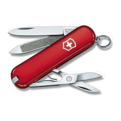 چاقوی قرمز 7 کاره کلاسیک ویکتورینوکس – Victorinox Classic – 0.6203
