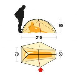 Ferrino Nemesi 1 tent 1 1 247x247 - چادر کوهنوردی 1 نفره نمسی فرینو - Ferrino Nemesi 1 tent