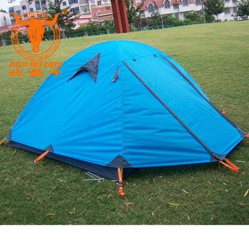 Genuine cow Arctic Pole 2 3 double double doors aluminum pole tent tent camping tents couple 510x510 - چادر کوه نوردی و طبیعت گردی کله گاوی 3 نفره Pekynew 3 persons 2003