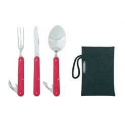 ست قاشق چنگال و کارد سفری  فرینو کلیپ - Ferrino Cutlery Clip