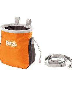 saka petzl Chalk bag1 247x296 - کیسه پودر پتزل مدل ساکا Petzl SAKA