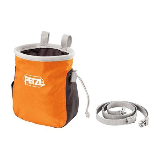saka petzl Chalk bag1 510x510 - کیسه پودر پتزل مدل ساکا Petzl SAKA