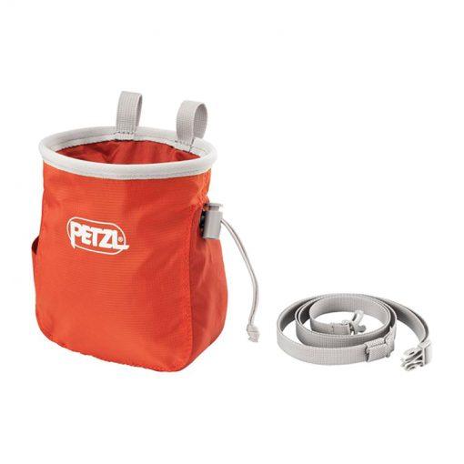 saka petzl Chalk bag2 510x510 - کیسه پودر پتزل مدل ساکا Petzl SAKA