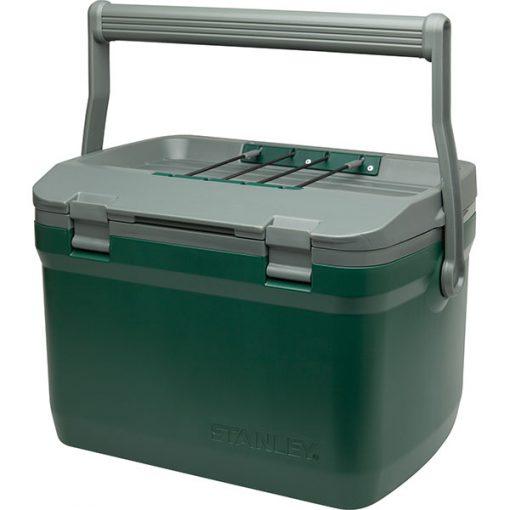stanley adventure cooler 16qt green PT01 510x510 - جعبه خنک نگهدارنده استنلی - Stanley Advanture Cooler 16qt