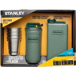 stanley adventure flask shots gift set 1 247x247 - ست شات و قمقمه کتابی استنلی - Stanley Adventure Steel Shots + Flask
