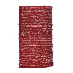 دستمال سر و گردن وینداکستریم Wind x-treme Reggae Red