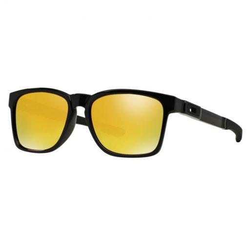 main OO9272 04 catalyst polished black 24k iridium 028 69129 png hero 1 510x510 - عینک آفتابی کاتالیست اوکلی - Oakley Catalyst 24K Iridium OO9272-04