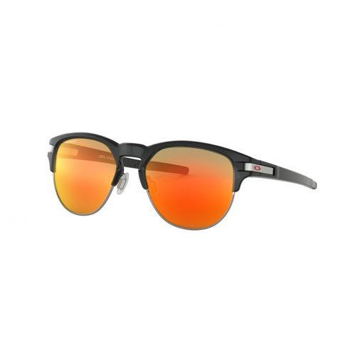 main oo9394 0452 latch key polished black ink prizm ruby 001 132855 png heroxl 510x510 - عینک آفتابی اوکلی لچ کی لنز پریزم - Oakley Latch Key Prizm OO9394
