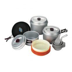 ظروف 78 نفره کووا سیلور Kovea Silver coating 7 247x247 - ظروف 7 تا 8 نفره کووا سیلور  Kovea Silver coating 7,8 KSK-WY78