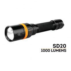 چراغ قوه فنیکس ای دی 20 - Fenix SD20 Diving Light