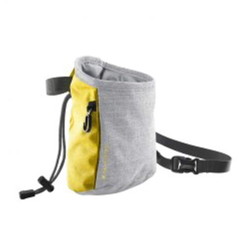 skylotec chalkbag slate yellowlight grey 510x510 - کیسه پودر سنگ نوردی اسکای لوتک Skylotec Chalk Bag