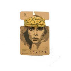 دستمال سر و گردن قصه دار تیداسان مدل هندسی Teadasun