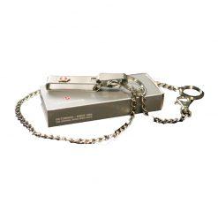 گیره کمربند فلزی زنجیری بلند چفتدار ویکتورینوکس Victorinox klip 4.1860
