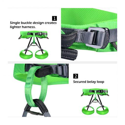 Kailas AIRO rock climbing harness product details page 2 510x510 - هارنس کایلاس KAILAS Pneuma Harness KE731005