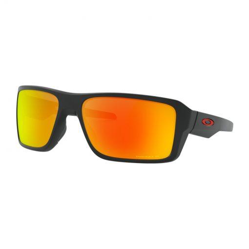 main oo9380 0566 double edge matte black prizm ruby polarized 001 118806 png hero 510x510 - عینک آفتابی دابل اج اوکلی Oakley Double Edge Prizm Polarized OO9380-0566