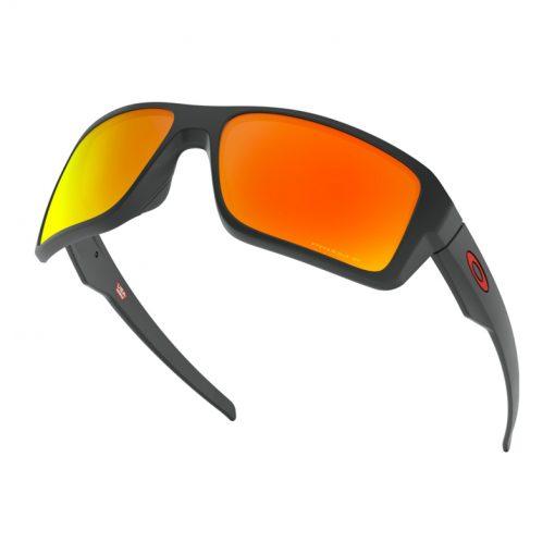 main oo9380 0566 double edge matte black prizm ruby polarized 037 158736 png hero 510x510 - عینک آفتابی دابل اج اوکلی Oakley Double Edge Prizm Polarized OO9380-0566