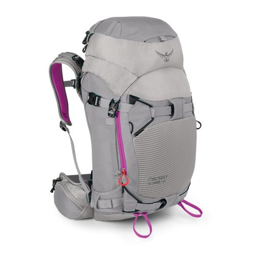 kresta40 side twilightgrey 510x510 - کوله پشتی کوه نوردی و اسکی زنانه آسپری Osprey Kresta 40