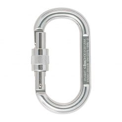 beal olight screw 18a bea mclol silver 1 247x247 - کارابین پیچ بیضی او-لایت بئال Beal o'light Screw Gate Carabiner