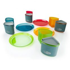 ست ظروف پلاستیکی 4 نفره جی اس آی GSI Infinity 4 person compact tableset