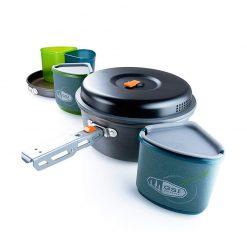 ست ظروف 2 نفره جی اس آی GSI Pinnacle Backpacker Cook Set