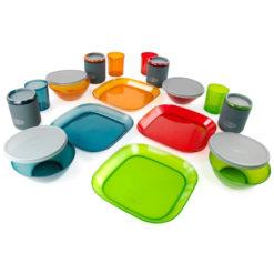 ست ظروف پلاستیکی 4 نفره جی اس آی GSI Infinity Deluxe Tableset
