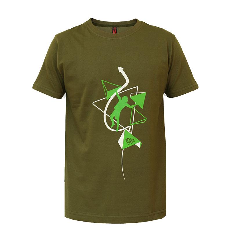 تیشرت سنگنوردی طرح سنگنورد مگاهندز Megahandz Climber Tshirt