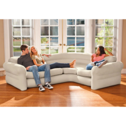 کاناپه بادی ال شکل اینتکس 68575 Intex corner sofa