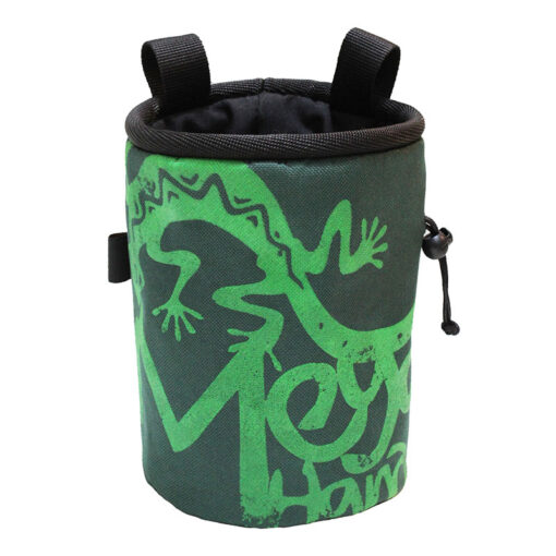 کیسه پودر مگاهندز طرح لوگو Megahandz chalk bag mega c-Six