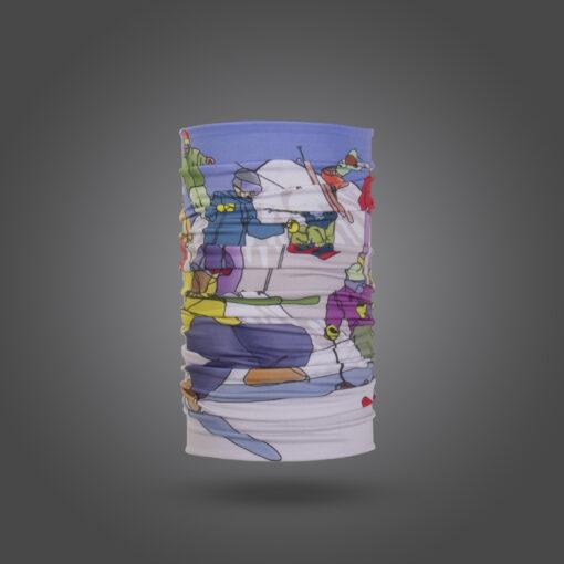دستمال سر تیداسان قصه دار سری دماوند 2 کد Teadasun T0171